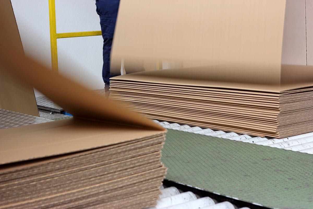 Cartón Fan-Fold