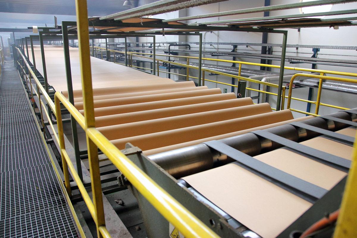 Fabricación de cartón ondulado